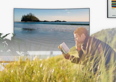 Use Relax Scenes Nature Videos while reading
